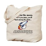 Shoot The Moon Tote Bag