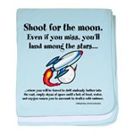 Shoot The Moon baby blanket