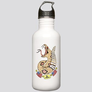 Second Amendment Rattler Stainless Water Bottle 1.