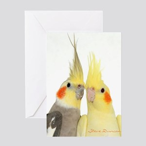 I hope you love birds Greeting Card