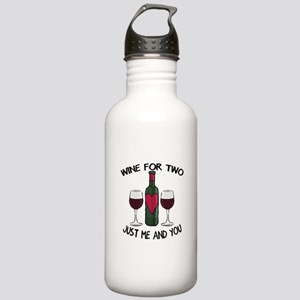 Romantic love wine for two Stainless Water Bottle