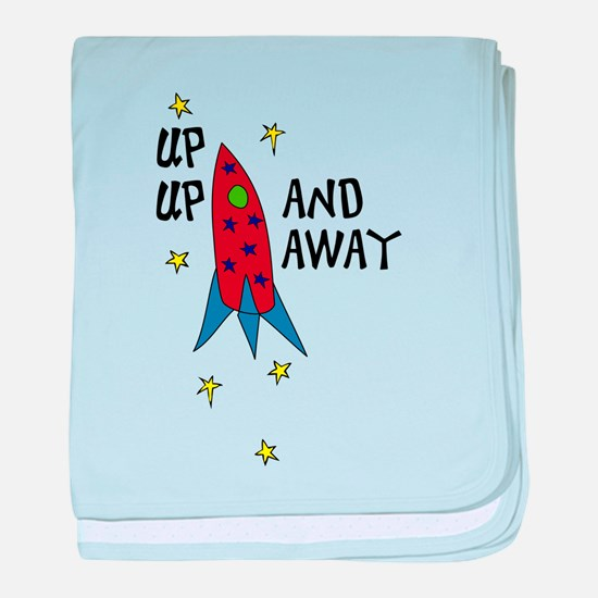 Up Up and Away baby blanket