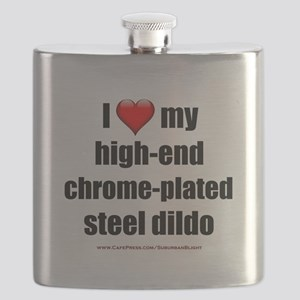 """Love High-End Dildo"" Flask"