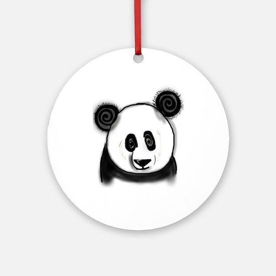 Panda Bear - ZooWhirlz Ornament (Round)