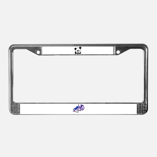 Panda Bear - ZooWhirlz License Plate Frame
