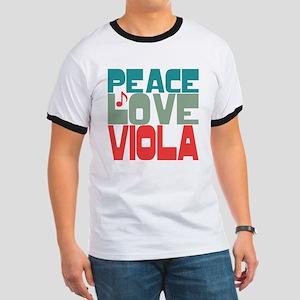 Peace Love Viola Ringer T