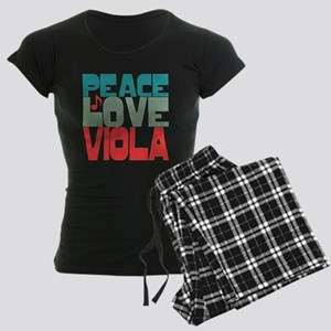 Peace Love Viola Women's Dark Pajamas
