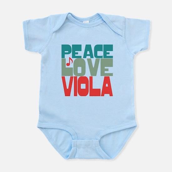 Peace Love Viola Infant Bodysuit