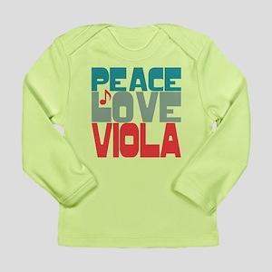 Peace Love Viola Long Sleeve Infant T-Shirt