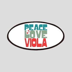 Peace Love Viola Patches