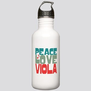 Peace Love Viola Stainless Water Bottle 1.0L