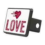 Love Rectangular Hitch Cover