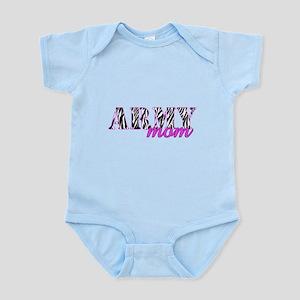 Army Mom Zebra Infant Bodysuit
