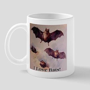 I Love Bats First Edition Mug