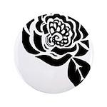 Black Digital Flower Design 3.5