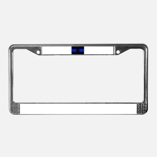 Thin Blue Line - Alabama License Plate Frame