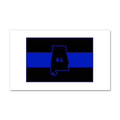 Thin Blue Line - Alabama Car Magnet 20 x 12