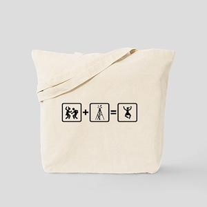 Oil Driller Tote Bag