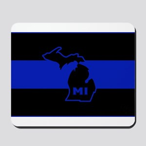 Michigan Thin Blue Line Mousepad