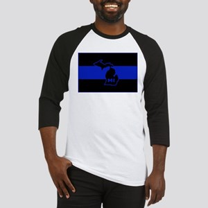 Michigan Thin Blue Line Baseball Jersey