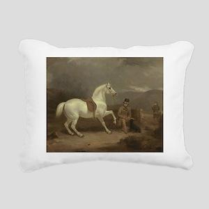 On the Hunt Rectangular Canvas Pillow