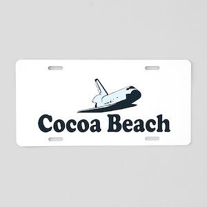 Cocoa Beach - Space Shuttle Design. Aluminum Licen
