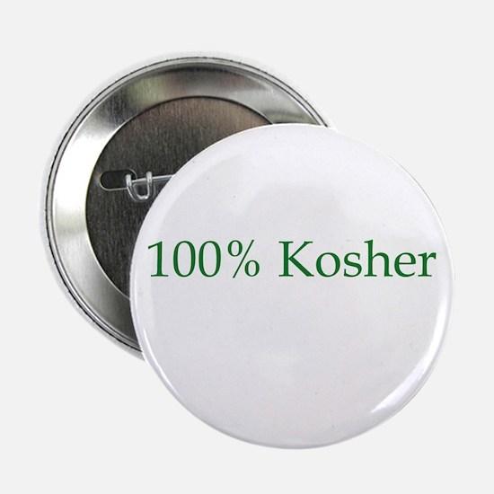 100% Kosher Button