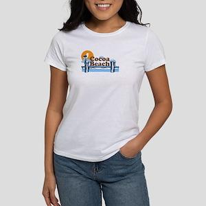 Cocoa Beach Pier Design Women S T Shirt