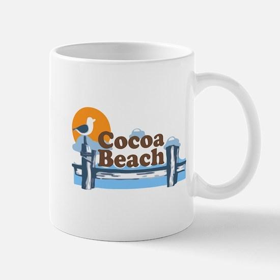 Cocoa Beach - Pier Design. Mug