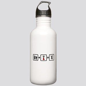 Tambourine Player Stainless Water Bottle 1.0L