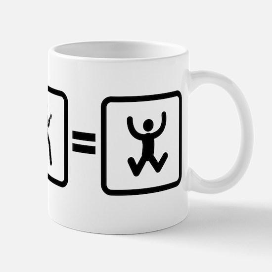 Ukulele Player Mug