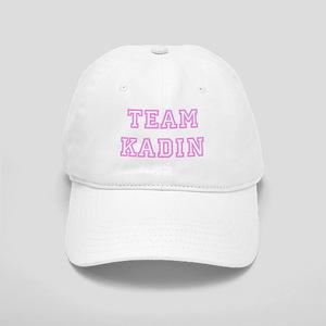 Pink team Kadin Cap