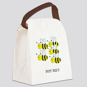 Busy Bee`s Design Canvas Lunch Bag