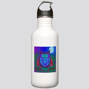 Moon Owl Stainless Water Bottle 1.0L