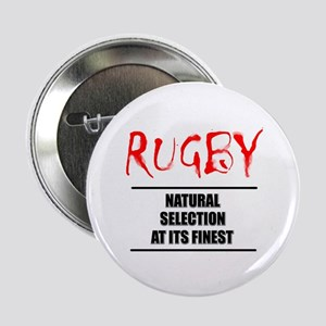 """Rugby Natural Selection 2.25"""" Button"""