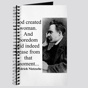 God Created Woman - Nietzsche Journal