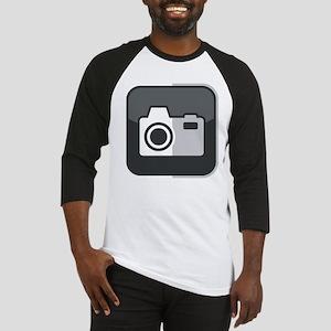 Kamera-Symbol Baseball Jersey