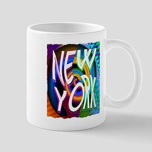new york art illustration Mug