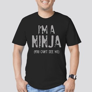 I'm a Ninja (You can't see me) Men's Fitted T-Shir