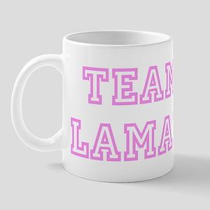 Pink team Lamar Mug