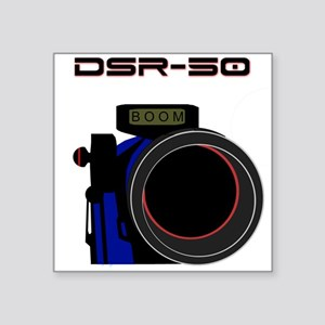 "DSR-50 Square Sticker 3"" x 3"""