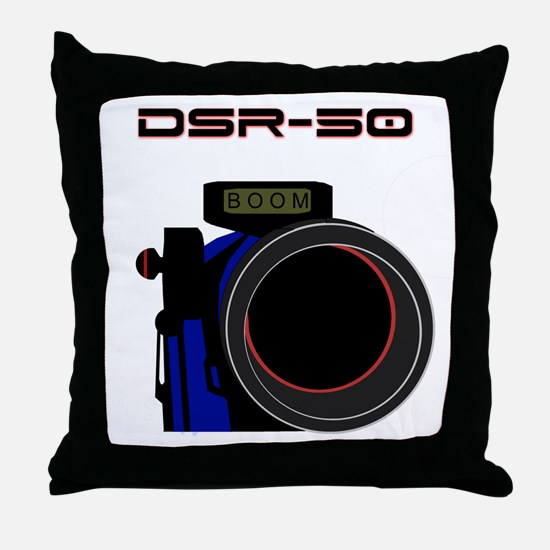 DSR-50 Throw Pillow