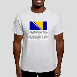Bosnia-Herzegovina Gray T