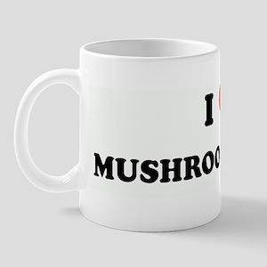 I Love MUSHROOM STAMPS Mug