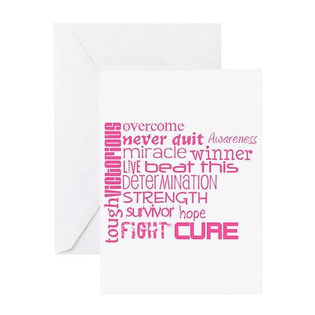 BCA Words Greeting Card