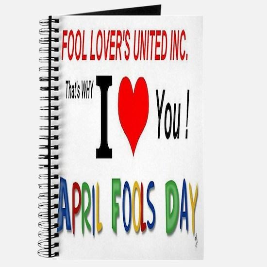 April Fool Lovers United Journal
