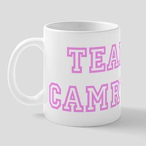 Pink team Camryn Mug