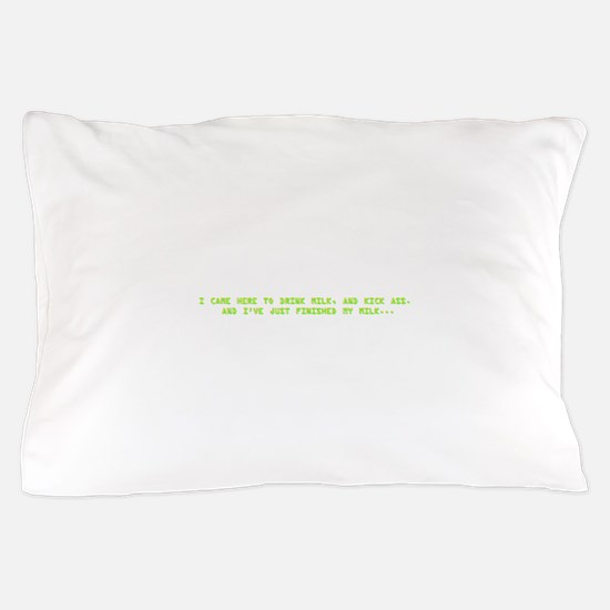 drinkmilk.png Pillow Case