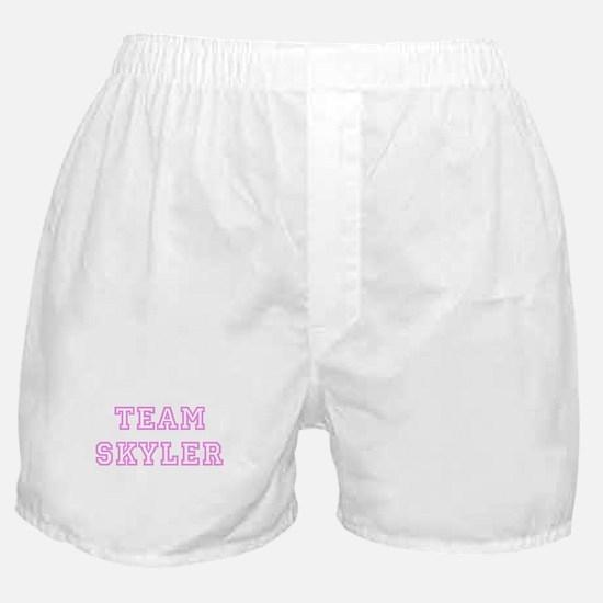 Pink team Skyler Boxer Shorts