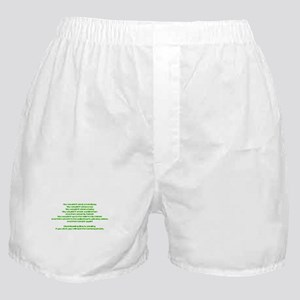 PSA Advert Boxer Shorts